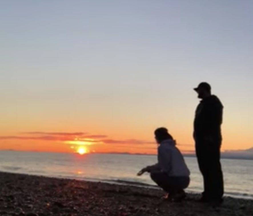 Couple's Sunset Moment Bombarded By Dog Who Pees Over Camera