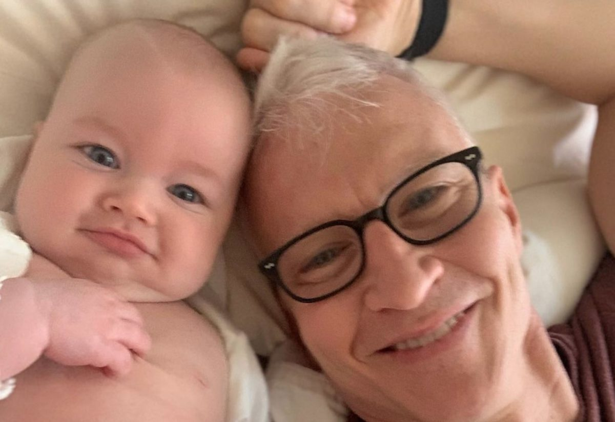 Anderson Cooper's 6-Month-Old Named Cutest Baby Alive