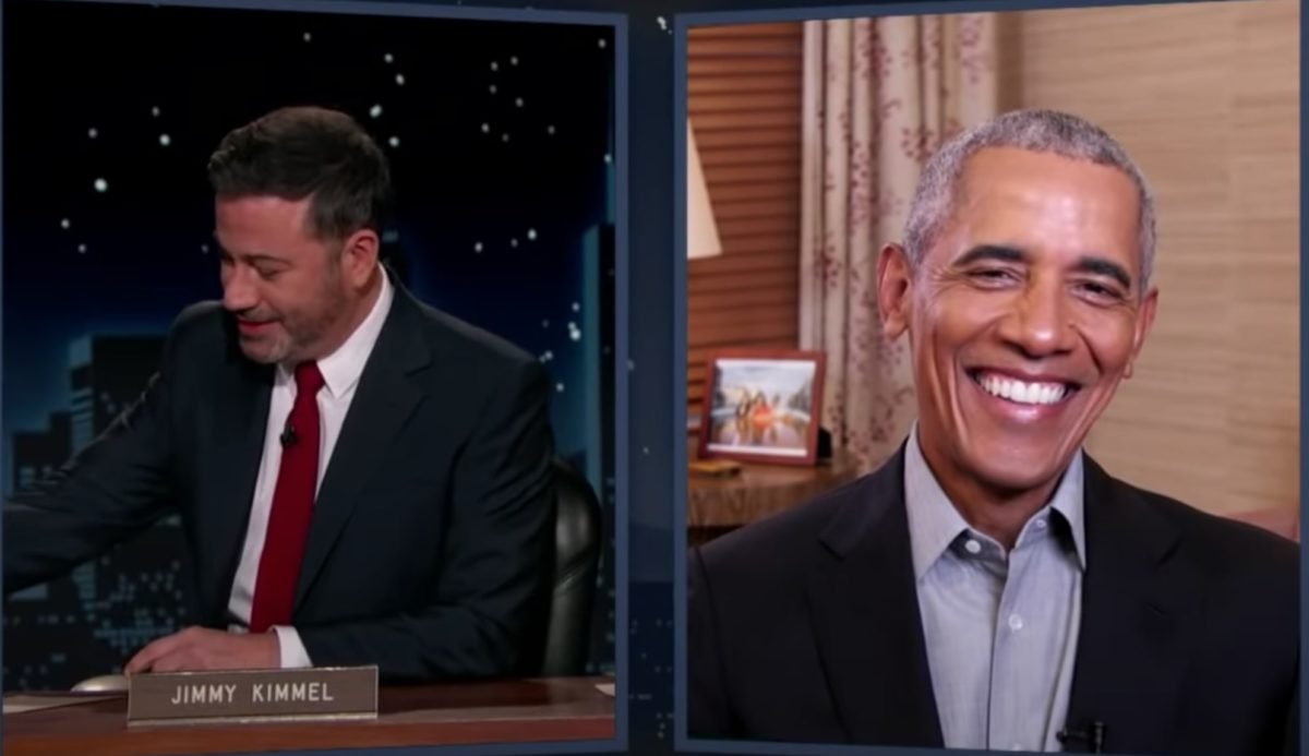 Jimmy Kimmel Asked Obama If He Did It With Michelle