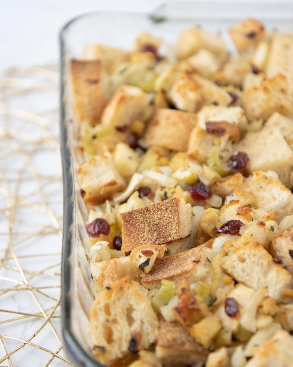 10 modern thanksgiving sides certain to refresh your holiday dinner vegan fennel and apple stuffing