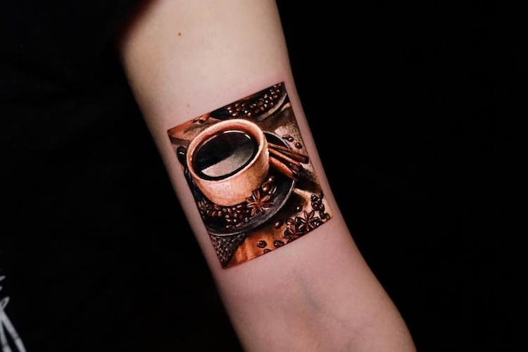 25 Tattoos for People Who Really, Really Love Coffee