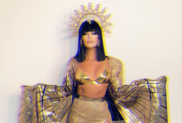 khloé kardashian claps back when fan speculates that she's pregnant | it seems the world loves to stir up kardashian pregnancy rumors. the latest speculation comes after khloé posted photos of her dressed as cleopatra on halloween.