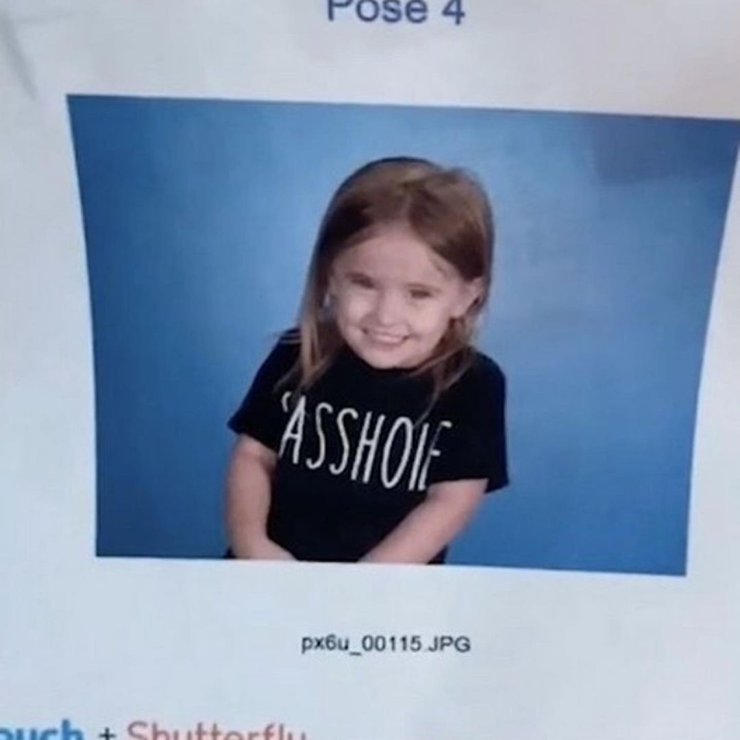 Mom Makes Toddler Look Like a 'Sasshole' on Picture Day, the Photo Is a Blessing
