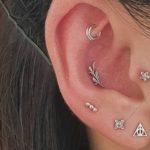 25 Subtle Inner-Ear Piercings That Add a Pinch of Sparkle
