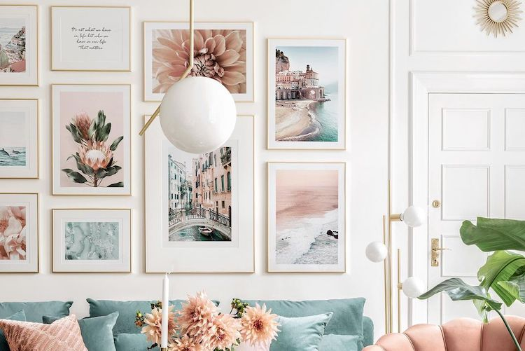 15 Picture-Perfect Gallery Walls That Inspire Us to Buy and Hang Some Art