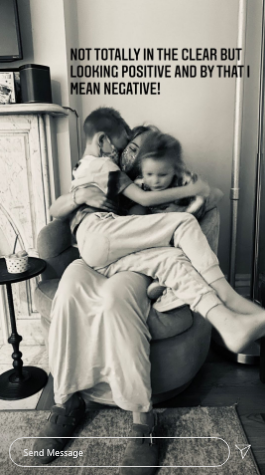 hilary duff reunites with family after 14-day quarantine | a pregnant hilary duff had to quarantine solo for 14 days after a covid scare. thankfully, she's now been reunited with her family before thanksgiving.