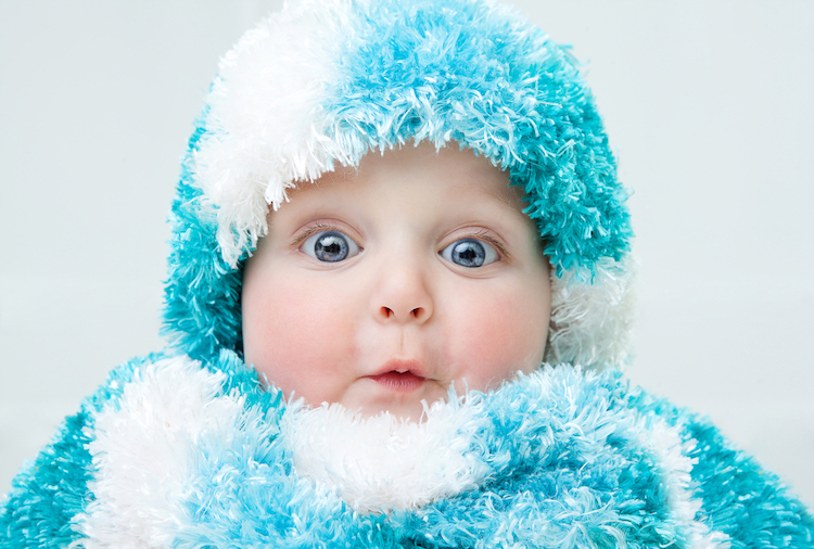 25 cool baby names for girls inspired by winter that aren't short on warmth