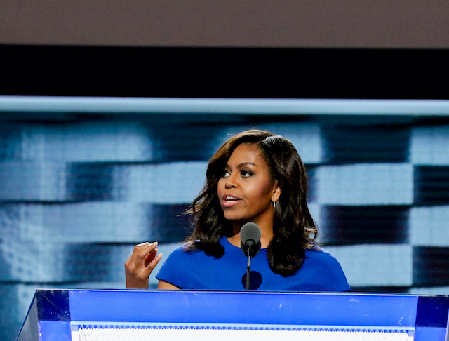 "Michelle Obama Calls Out Trump for Refusing a ""Seamless Transition of Power"""