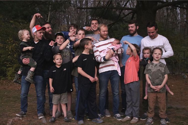 Michigan Couple with 14 Sons 'Beyond Excited' to Welcome First Daughter