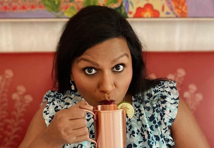 mindy dishes on her kids' names