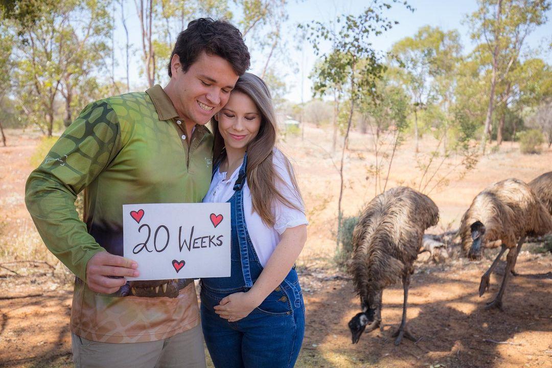 pregnant bindi irwin boasts her perfect 26-week baby bump