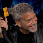 George Clooney Uses a Flowbee to Cut His Own Hair