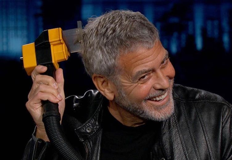 George Clooney Has Been Cutting His Own Hair For 25 Years