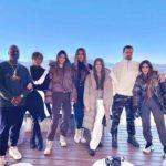 Was Kourtney Actually Photoshopped Into The Kardashian Family Holiday Photo?!