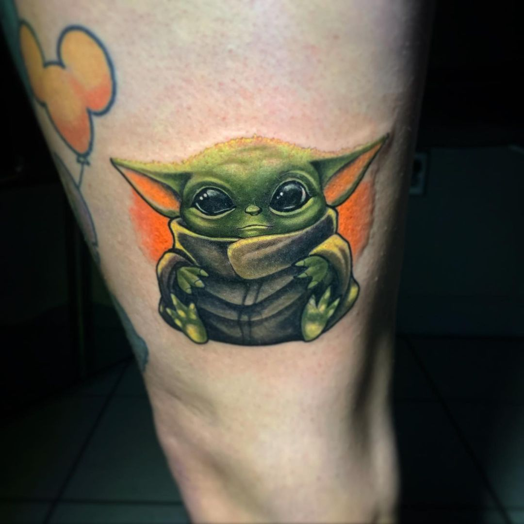 25 baby yoda tattoos that prove the child is the cutest thing ever