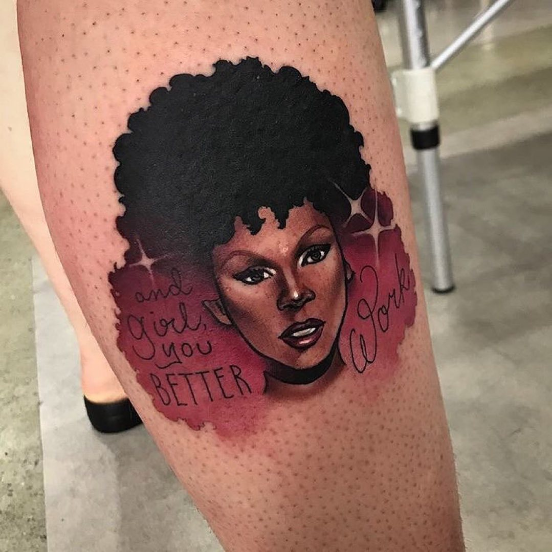 25 fabulous tattoos inspired by rupaul's drag race