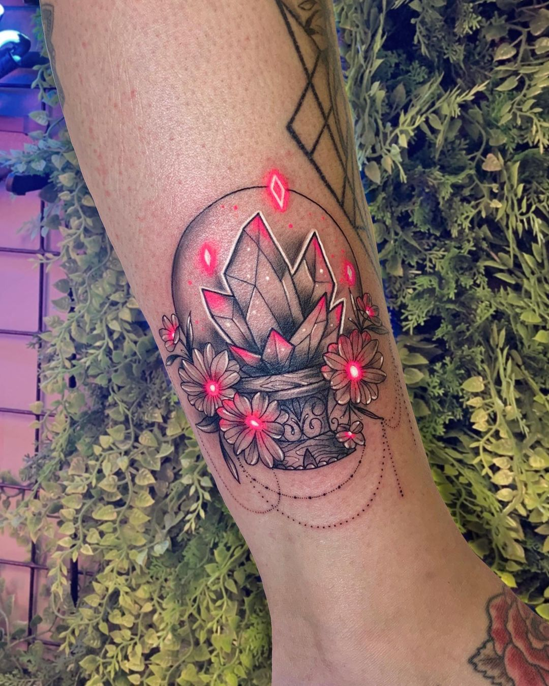 25 neon tattoos that crank the color to the max
