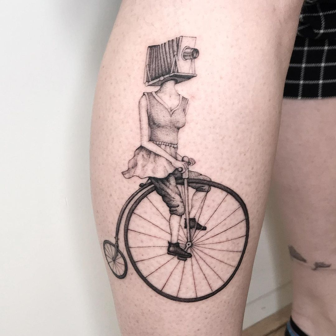 25 surrealism tattoos that will bend your mind