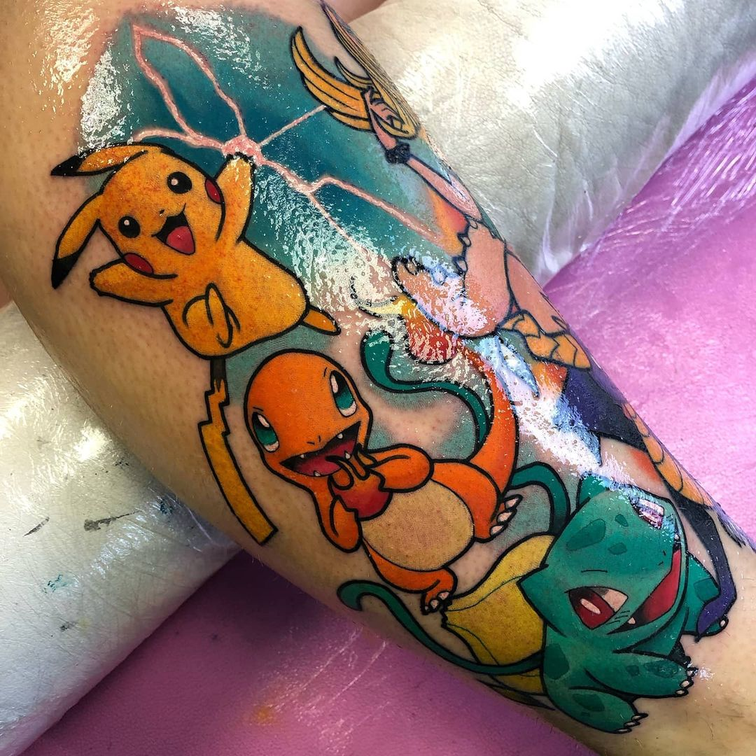 25 fun gamer tattoos for those who love to play