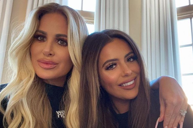 Kim Zolciak Says NFL Players Are Constantly DMing Her Daughter