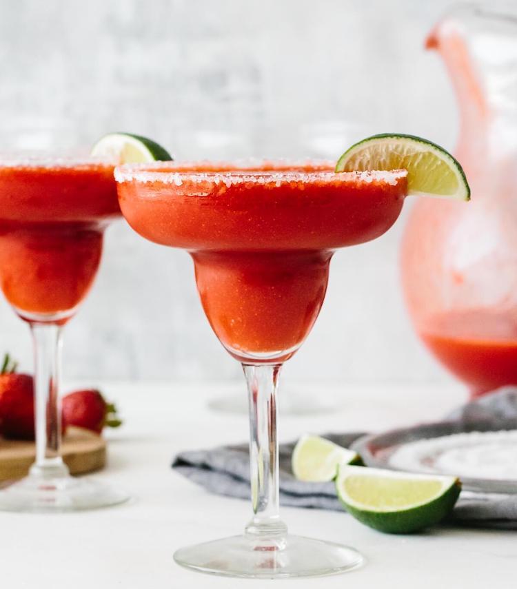 30 blender recipes that aren't smoothies strawberry margarita