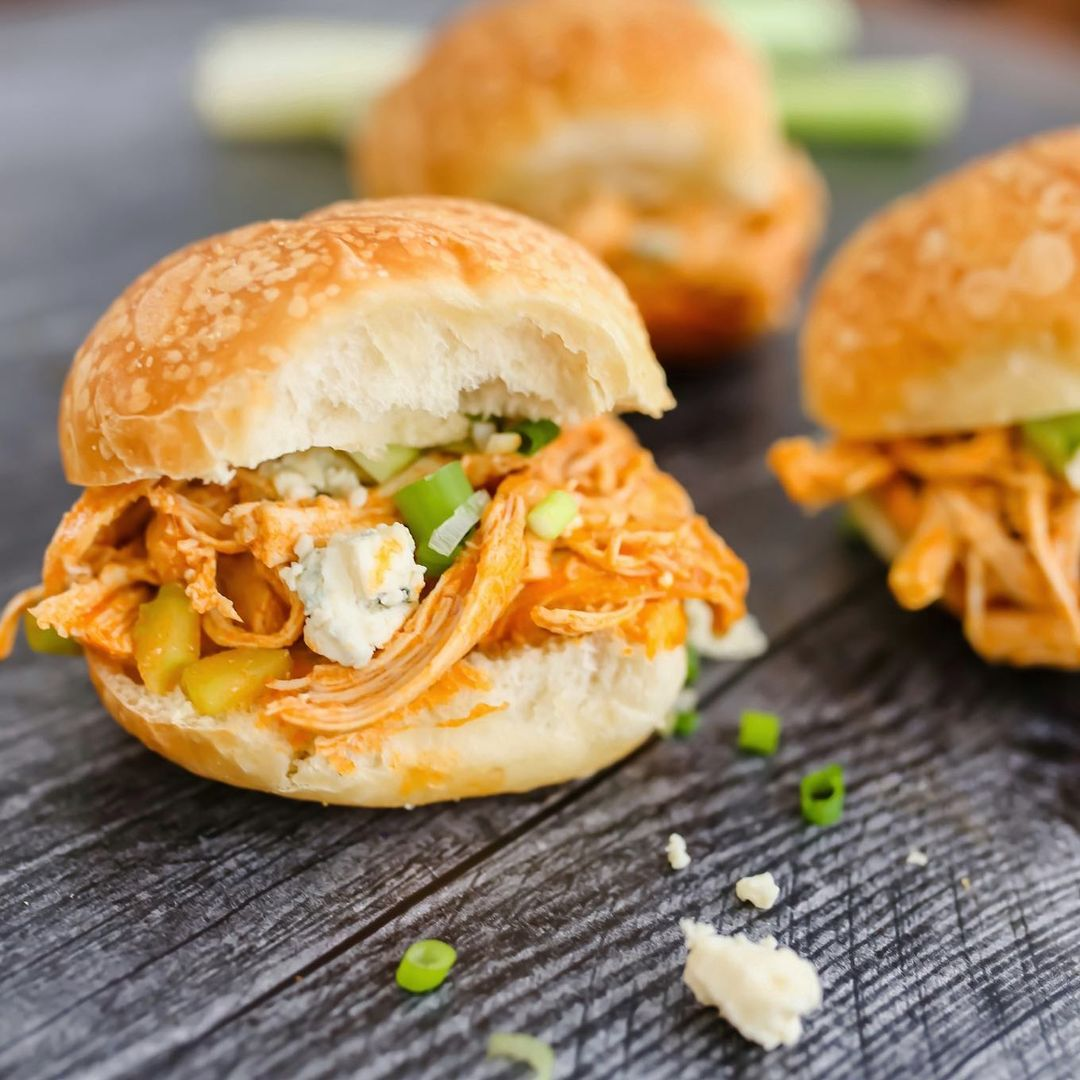 we found the most mouth-watering instant pot recipes that you will want to eat right now, like buffalo chicken sliders.