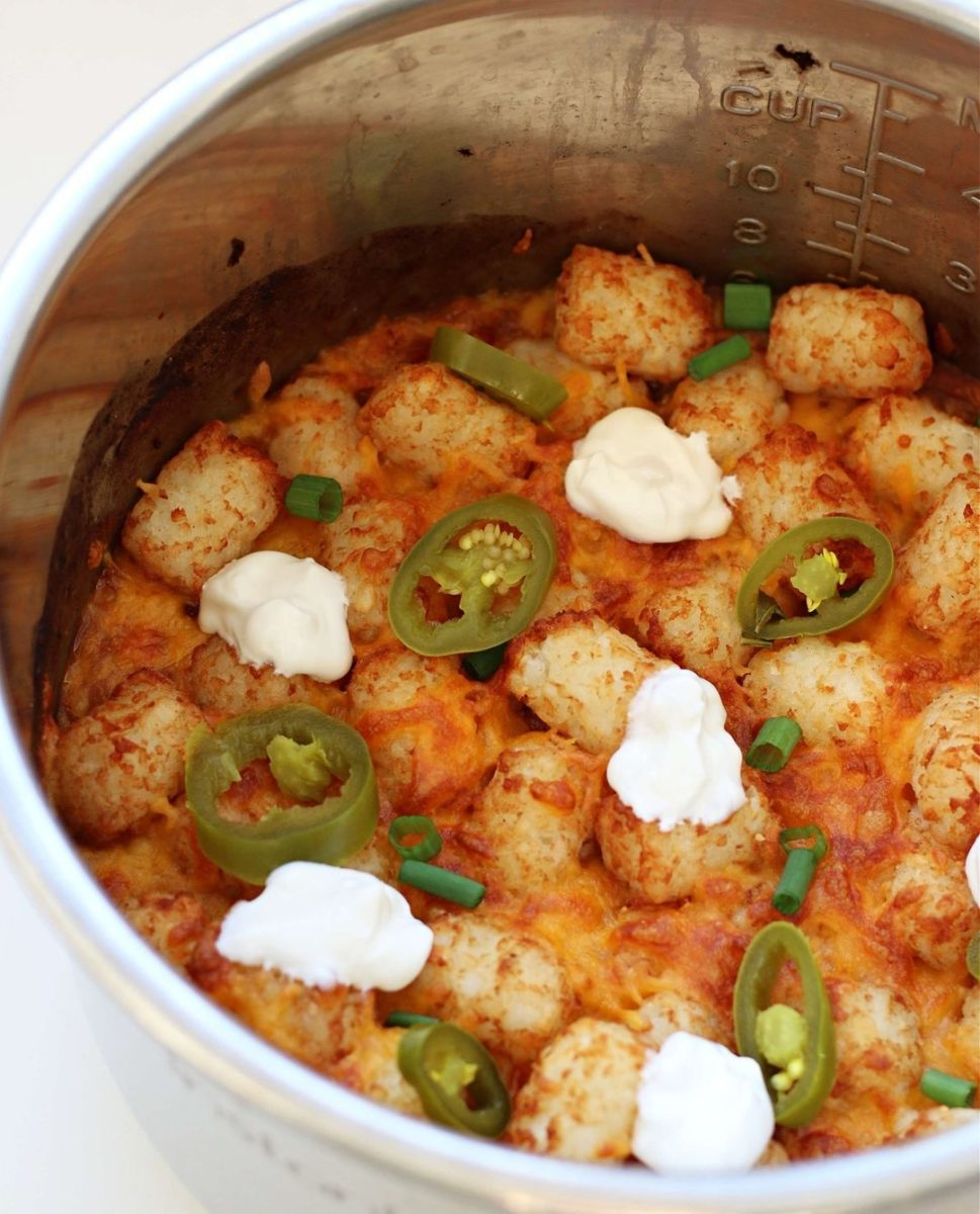 we found the most mouth-watering instant pot recipes that you will want to eat right now, like totcho casserole.