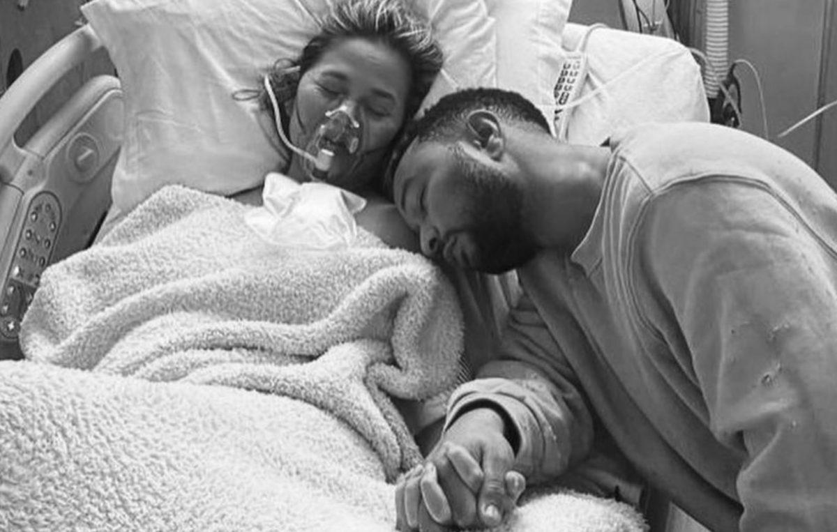 john legend and chrissy teigen give discuss pregnancy loss