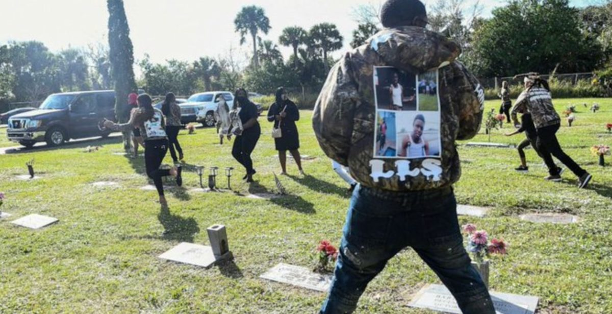 mom shot at funeral for son who was gunned down and killed