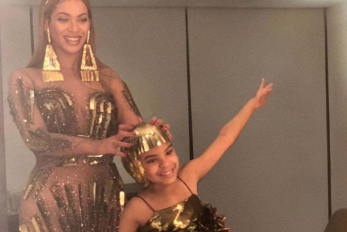 """Blue Ivy Earns First Grammy Nomination for """"Brown Skin Girl"""""""