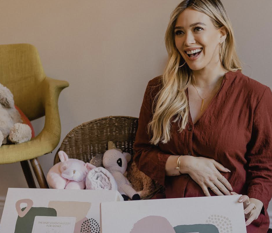 hilary duff talks preparing for baby #3 during pandemic