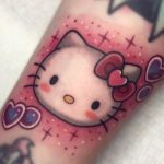 25 Kawaii Hello Kitty Tattoos That Will Steal Your Heart