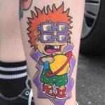 25 Nickelodeon Tattoos That Will Take You Back