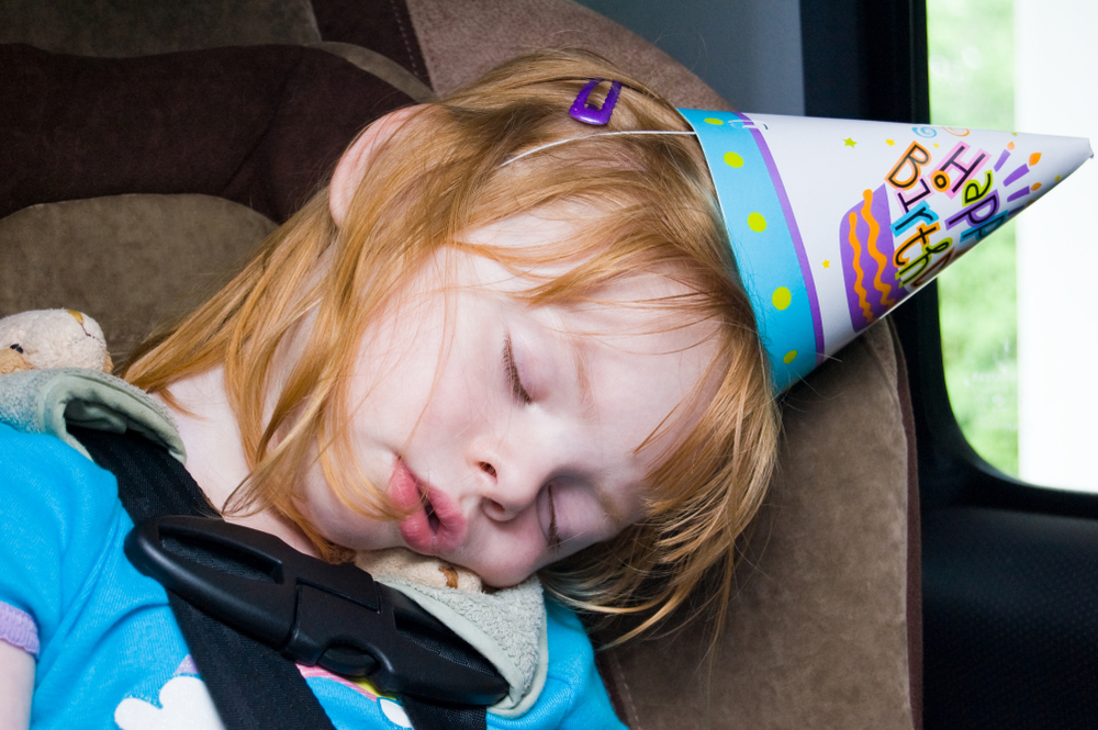 is it okay to stay out past your toddler's bedtime for holidays or special occasions?