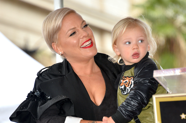 Pink's 3.5-Year-Old Son Is Already a Motocross Pro, and We Are In Awe!