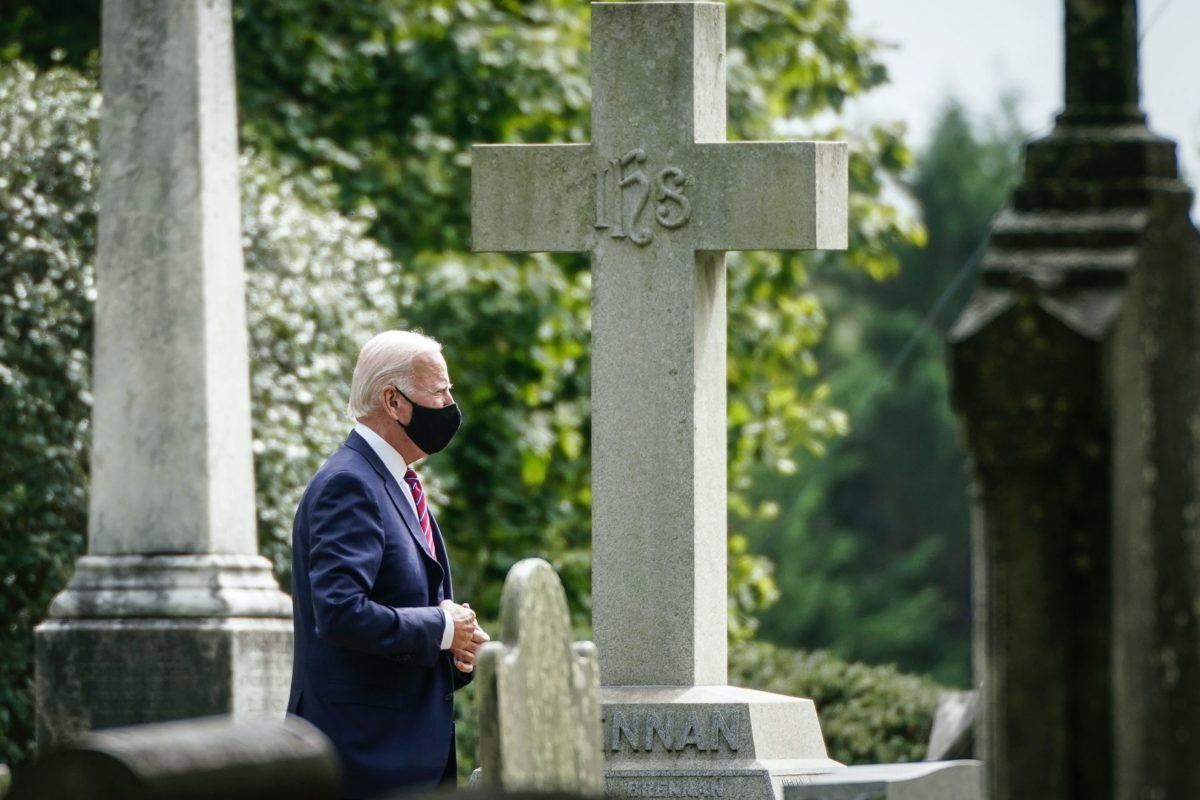 Joe Biden Pays Respect To The Graves Of First Wife And Baby