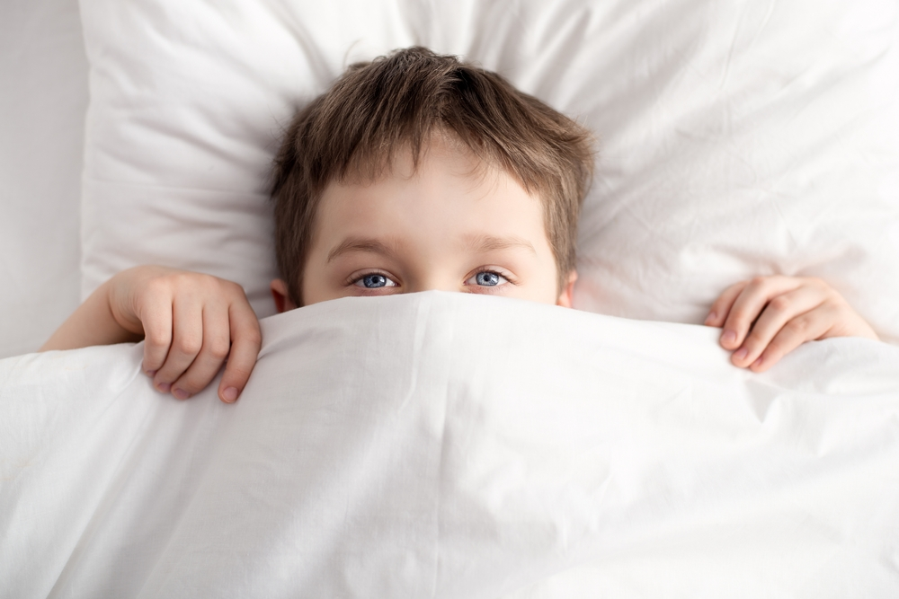 my 5-year-old son is suddenly terrified to go to bed and i have no idea how to handle it