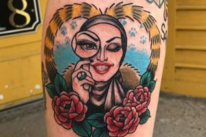 25 sickening tattoos inspired by rupaul's drag race