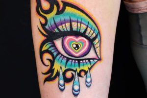 25 psychedelic tattoos that are a trip out of this world