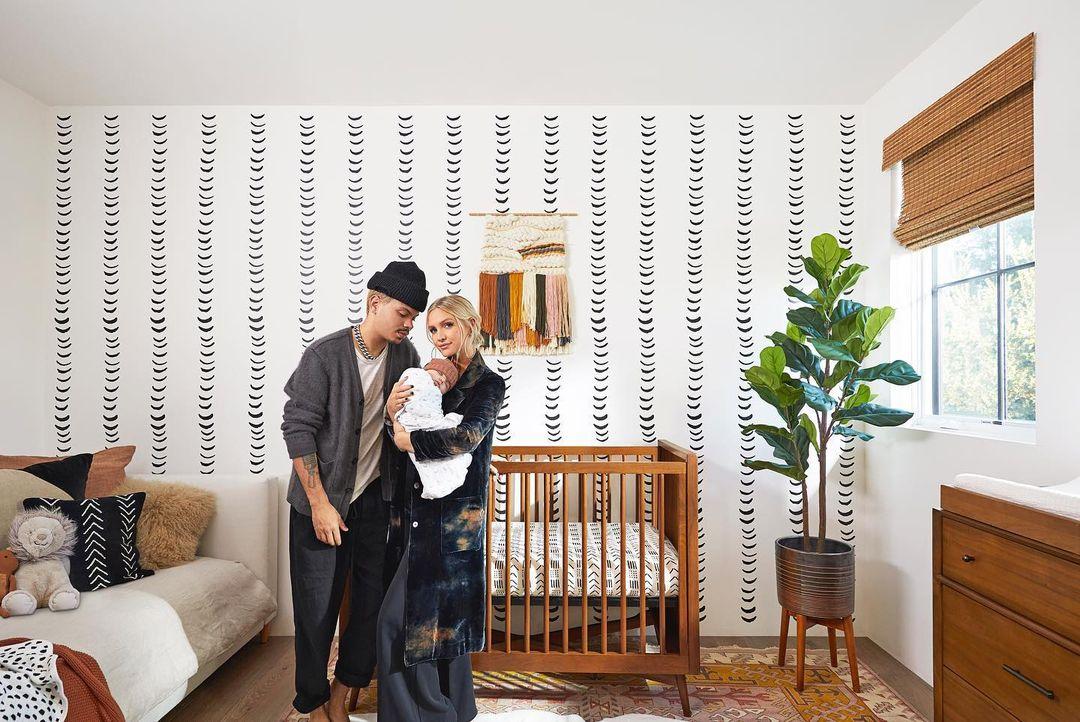 take a peek at ashlee simpson ross's nursery