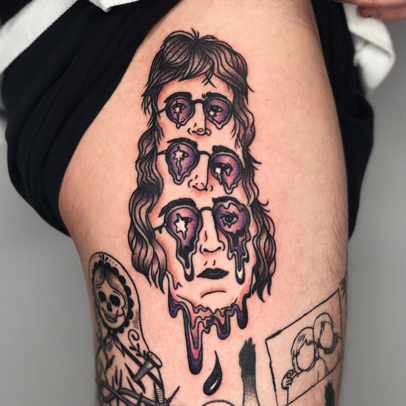 25 psychedelic tattoos that are a trip