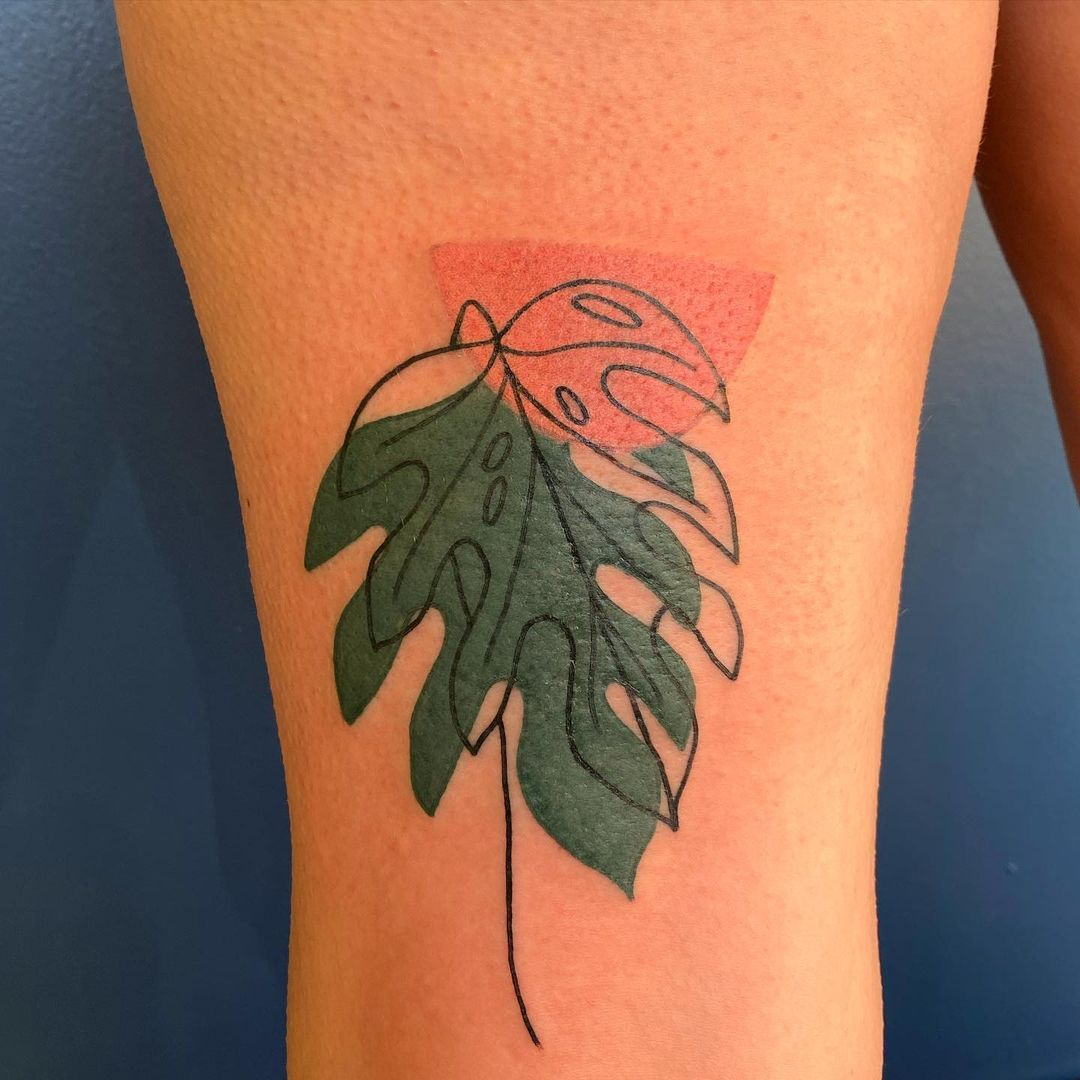 25 herbaceous plant tattoos that plant parents will love
