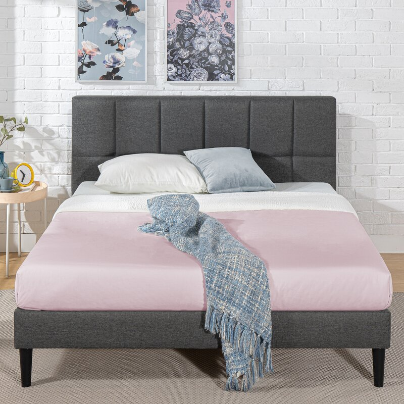 revamp your living room, bedroom, home office, and more with these top rate items from wayfair | parenting questions | mamas uncut colbytuftedupholsteredplatformbed