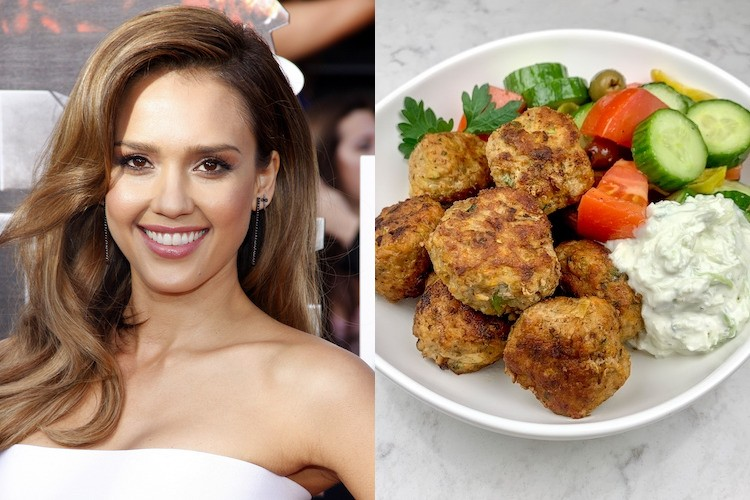 make jessica alba's turkey meatballs for flexible healthy meals all week long