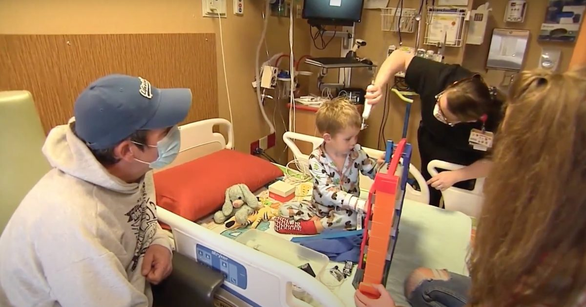 parents warn others after covid 3-year-old has stroke