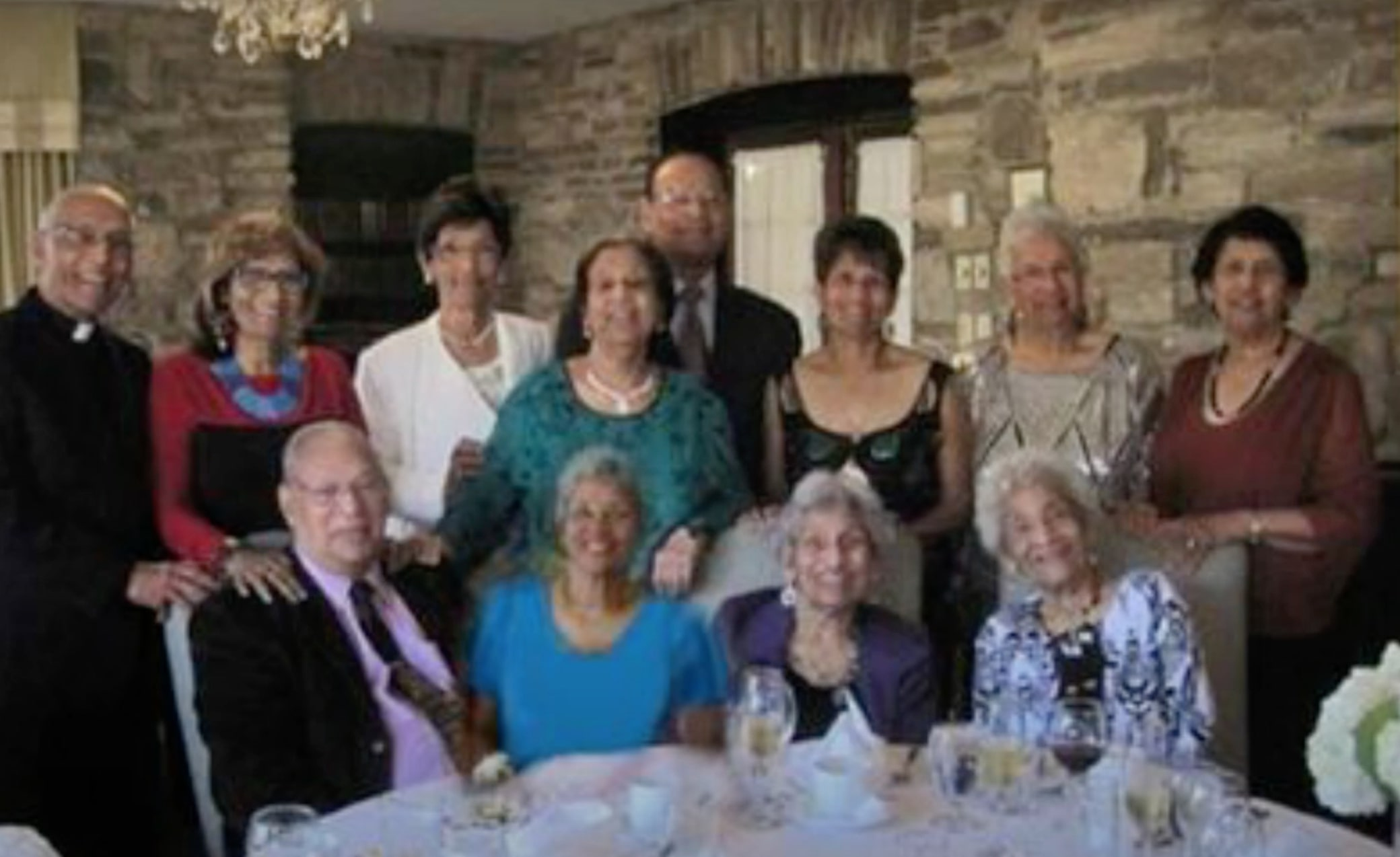 family of 12 siblings with highest combined age wins record