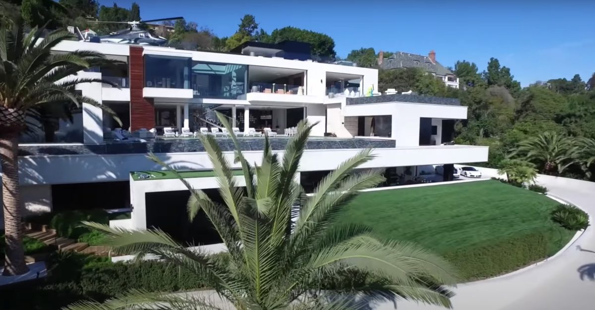 america's most expensive home is an 100,000 sq. ft. mansion