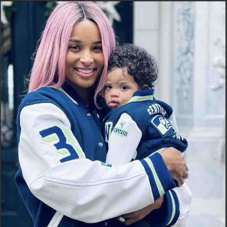 ciara reflects on giving birth to son during pandemic