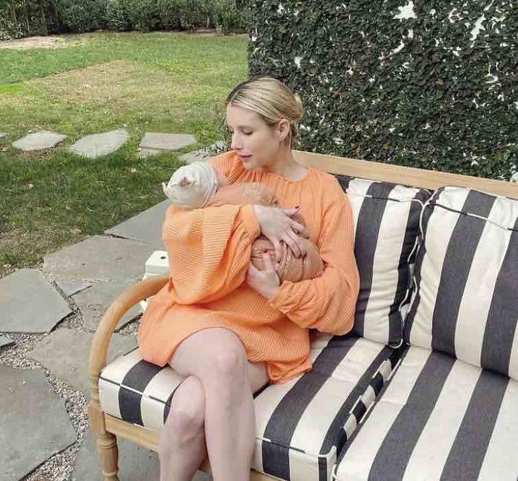 Emma Roberts Shares First Sweet Pic of Son