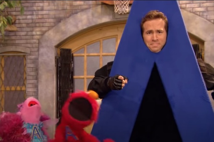 ryan reynolds tweets about 'a-hole' after lost sesame street appearance resurfaces